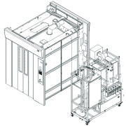 Basil® 9500 Cage and Rack Washer
