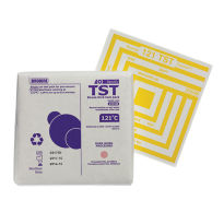 STERIS Product Number 2310AB TST SGL USE BOWIE DICK TEST PACK 121C/8 MN -20 PACKS