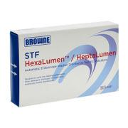 STERIS Product Number HX601 STF HEXALUMEN TEST. 10 PK OF 7 INDICATORS. USE W/ HX600