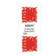 STERIS Product Number LCC012 VERIFY ALL CLEAN TEST INDICATOR / QTY OF 100