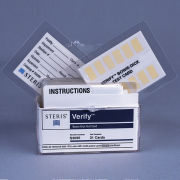 STERIS Product Number S3095 VERIFY MULTI-PULSE BOWIE DICK TEST CARD (31/BX)