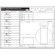 STERIS Product Number S3097 VERIFY DAILY STERILIZATION RECORD FORM (PAD OF 100  4 EACH)