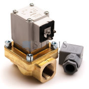 """Image for VALVE SOLENOID 3/4"""" BRASS from Service Parts - CA"""