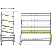 STERIS Product Number FD322 CONTAINER RACK