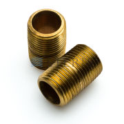 STERIS Product Number P029013091 NIPPLE 3/8 X 1 BRASS