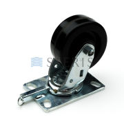 STERIS Product Number P150829839 CASTER  SWIVEL LOCK