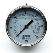 STERIS Product Number P764324481 PRES GAUGE 1/4 IN.NPT #7214