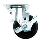 "STERIS Product Number P764335459 CASTER SWIVEL 4"" W/BRAKE"