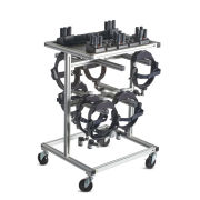 STERIS Product Number RXM90701 STORAGE CART. POWER TOWER 5-20 HEADLIGHTS
